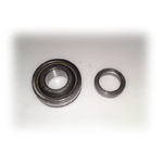 57--62  Wheel Bearing & Seal , Rear