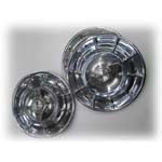 56--58  Wheel Covers , w / Spinners